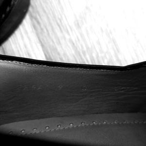 Principles Shoes - Mens Leather Wingtip Tassel Oxfords size 9 - black